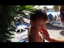ВЛОГ Анталия. Купаемся в бассейне. Vlogs Antalya. We swim in the pool.