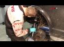 VW Transporter Multivan T5 - FRONT - Передние амортизаторы KYB установка