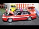 Мультфильмы для детей - Полицейская машина и Гоночная Машина - Гонки. Мультики про Машинки