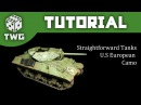 Bolt Action Tutorial: How To Paint WW2 US European Camo - M10 Wolverine