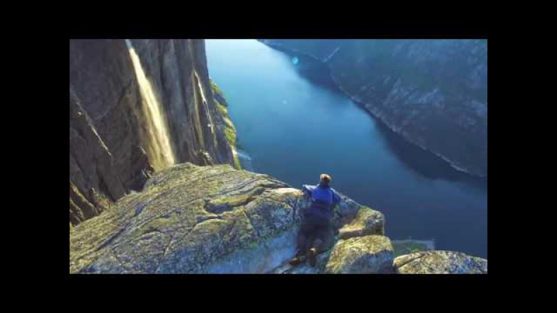 Природа Норвегии - съемка с квадрокоптера Drone-video