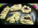 25 форм булочек из дрожжевого теста с начинкой и без