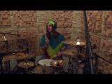 Shredding Brazzers recording drums 16/12/2016