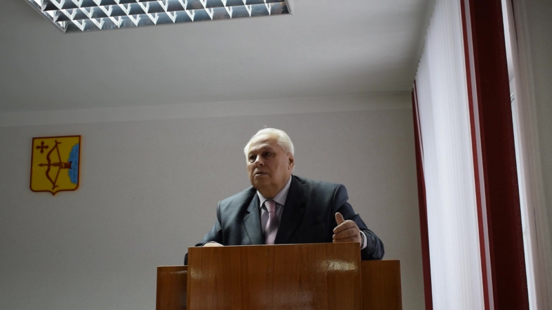 Выступление Френкеля М.О председателя ВООП( Всероссийское общество охраны природы)
