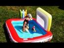 ✿ СВИНКА ПЕППА БАССЕЙН С КАРАНДАШАМИ Свинка Пеппа На Русском Peppa Pig in Pool Peppa Pig for Kids