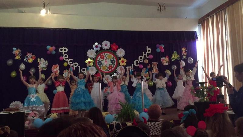 Дитячий колектив Кукли у Рівнопільській ЗОШ