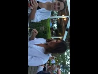 New videos of PhoebeJTonkin with Ilona & Alexis on instagram stories