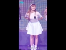 "· Fancam · 160416 · OH MY GIRL & A Pink (YooA focus) - ""Mr.Chu"" + ""Remember"" · MBC ""Music Core"" ·"