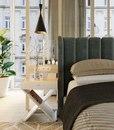 Прикроватная тумба Bonn,шпон дуба/цвет эмали по Ral дизайнер интерьера @gorelectrotrans...