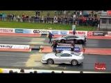 VS. Lamborghini Aventador Vs Toyota Supra Drag Race
