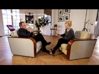 TF1 - Le Portrait - Pamela Anderson in Studio Harcourt Paris , interview with Nikos Aliagas 4 March 2017, Paris