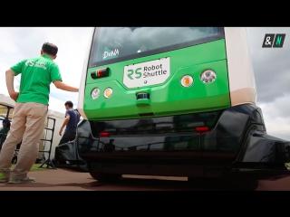 Японский беспилотный автобус