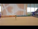 Художественная гимнастика Показательные выступление Дарья Курчаева