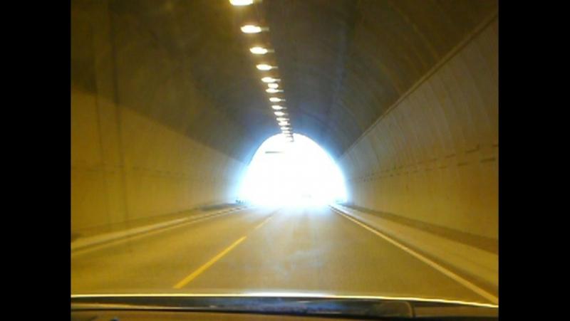 Выезд из туннеля в Норвегии