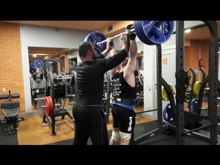 Литвиненко Женя - Швунг 140 кг. [03.03.2017]