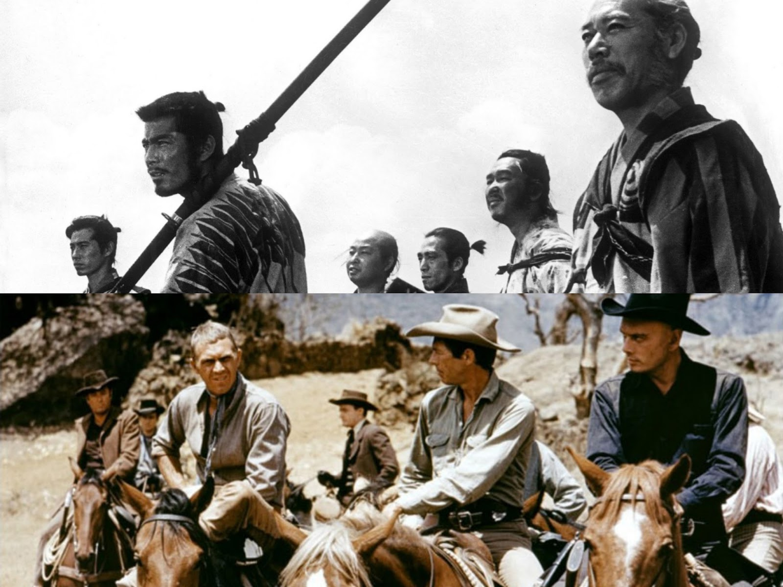 comparing and contrasting the final sequences in the magnificent seven and seven samurai In the seven samurai and the magnificent seven comparing it to seven samurai seven samurai vs magnificent seven final exam.