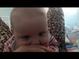 доча с лицом маленького дьяволенка