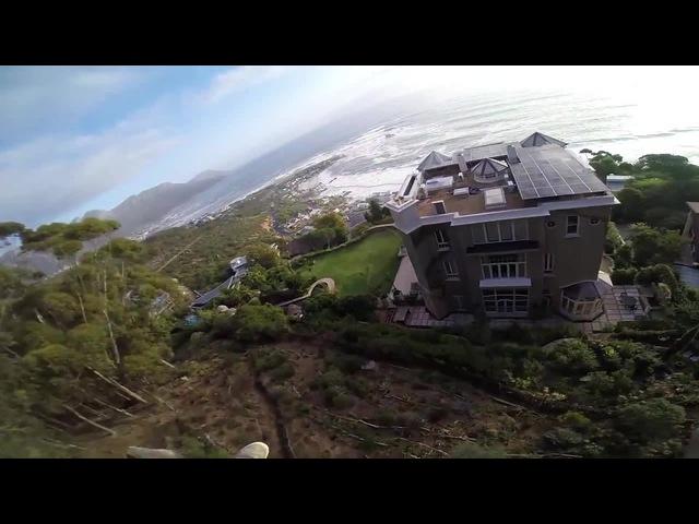 GTA 5 beta - Sunset Swooping through Mansions (music:Gta5 – No no we won't won't fall)