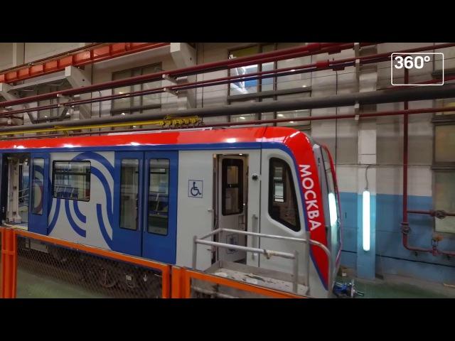 «Метровагонмаш» построит еще 144 вагона серии «Москва»