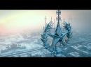 Красивая зимняя Москва. Всегда прекрасная. Воздушное путешествие над столицей России.
