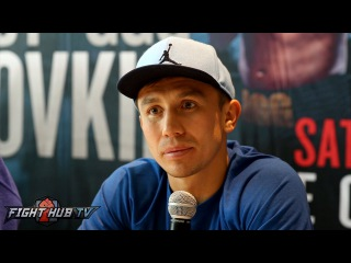 Golovkin vs. Brook: Gennady Golovkin Complete Q&A Press Conference- Los Angeles