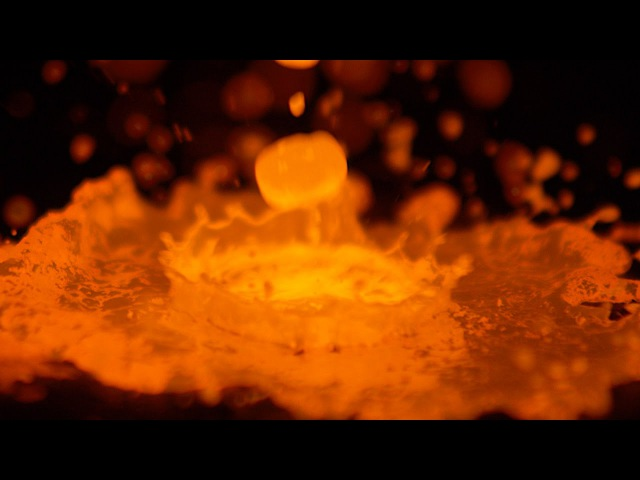 1200°C Molten Copper in Slow Motion - The Slow Mo Guys