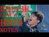 Dimash Kudaibergenov Low &amp High Notes Vocal Range (F2-B5-F6-G#7) (Димаш Кудайбергенов)