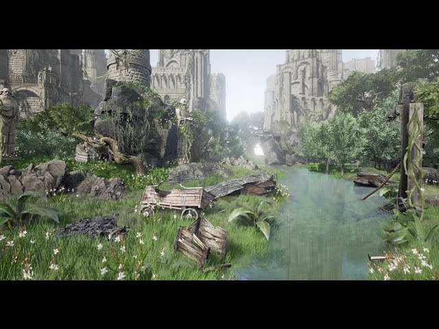Castle Valley | Speed Level Design (Unreal Engine 4)