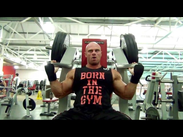 Marius Dohne | Shoulders and Triceps workout