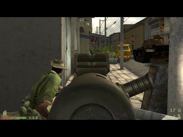 Вьетконг 2 - Vietcong 2 - прохождение кампании за США - эпизод 6 - Улица у моста