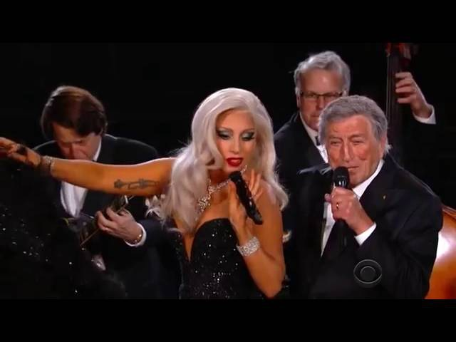 Music Performance Lady Gaga Tony Bennett - Cheek To Cheek (Live at The 57th Grammy Award)