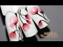 🌸Цветы на ногтях🌸Флористика🌸Простой дизайн ногтей гель лаком🌸Nail Design Shellac🌸