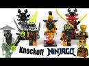 Ninjago Knockoff Custom LEGO Minifigures 2016