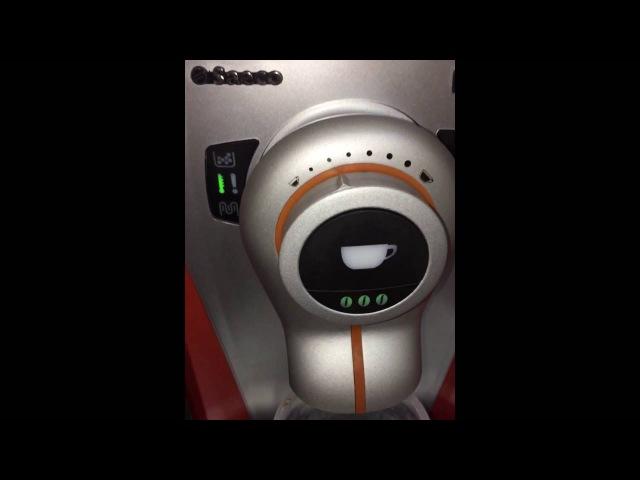 Saeco Odea giro orange автоматическая кофемашина. Приготовление кофе. Видео работы кофеварки Saeco