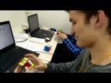 Dmitry Aniskin Rubik's cube 8.51 avg 12 (avg5 - 7.63  single - 6.91 (missing, so 6.96))