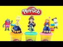 Play Doh Dresses Disney Princesses Elsa Anna Rapunzel Belle Ariel Cinderella Aurora 55