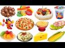Картинки для детей - еда. Учим слова название еды. Развивающие карточки Домана для детей часть 6
