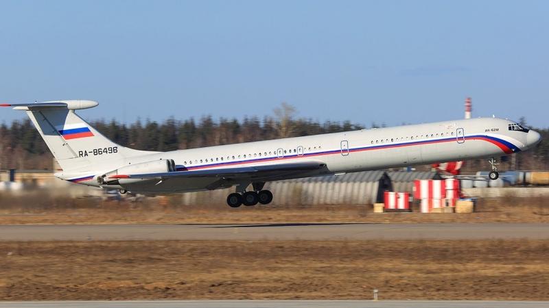Ил-62М RA-86496 Россия-ВВС. Чкаловский. Взлет 2014г.