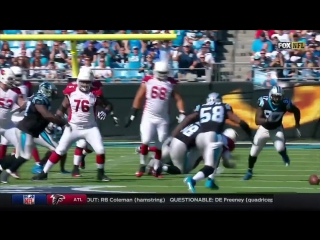 Thomas Davis Returns Carson Palmers Fumble for a TD! _ Cardinals vs. Panthers _ NFL