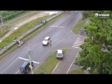 ДТП на перекрёстке в Бийске.