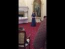 O cessate di piagarmi Мария Котенко Ливадийский дворец Ялта