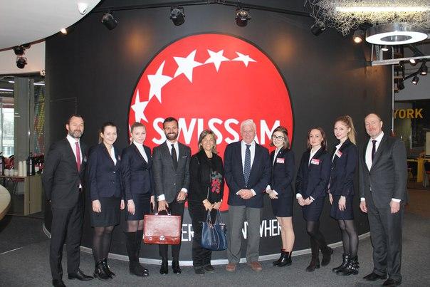 Бизнес-школу SWISSAM посетили уругвайские партнеры: - Стефано Ди Кон