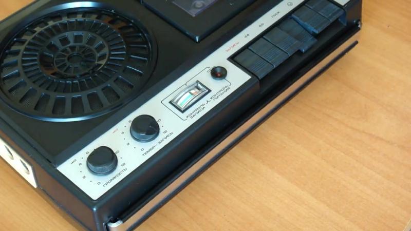 Обзор советского магнитофона Электроника 302-1. Вспомним былое_)