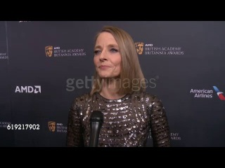 Jodie Foster on being honored tonight with the Stanley Kubrick Britannia Award