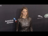 Jodie Foster Walks The Carpet 2016 Britannia Awards