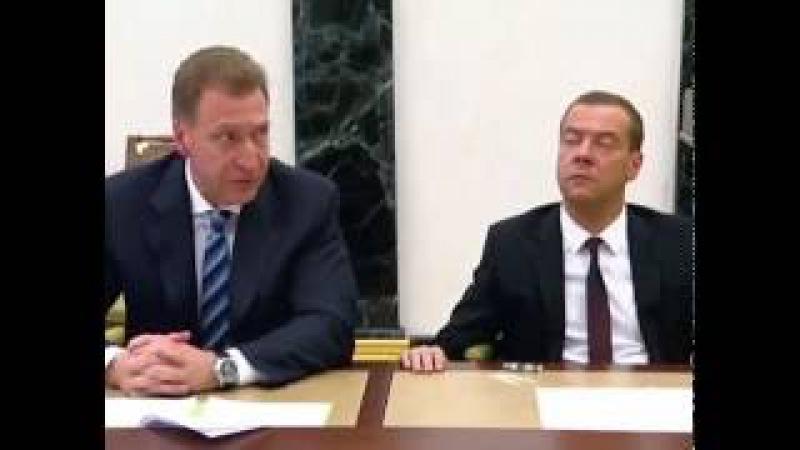 Медведев Д.А. готов управлять Россией вечно, как говориться пока не вынесут вперед ногами )