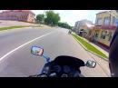 г Ляховичи Брестская область Июнь 2016 Kawasaki ZZ R600