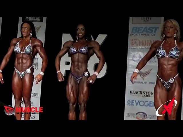 RX Muscle: Shanique Grant - winner women's physique NY PRO 2016.