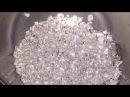 Плавка и литье аффинажного серебра в воду