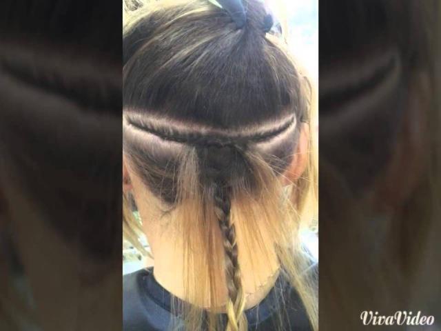 Наращивание волос в студии красоты Ля Флер